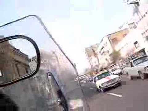 Action movie!!! Stant motorbike taxi in Tehran, Iran 2
