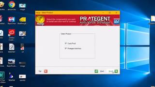 Installing Protegent Antivirus Software