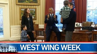 "West Wing Week: 1/23/15 or, ""B is for Believe"""