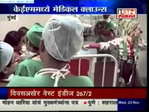 Dream Doctors in Mumbai: IBN Lokmat Salaam Maharashtra 23 NOv 2011 (HINDI)