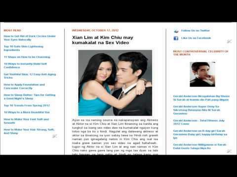 Xian Lim At Kim Chiu May Kumakalat Na Sex Video video