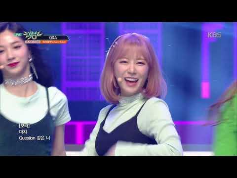 뮤직뱅크  Bank - Q&A - 체리블렛 Cherry Bullet 20190215