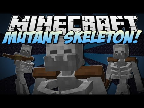 Minecraft | MUTANT SKELETON! (NEW Addition to Mutant Creatures!) | Mod Showcase