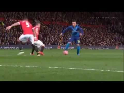 Manchester United vs Arsenal 1-2 2015 - All Goals & Full Highlights 7 min ◄ High Quality