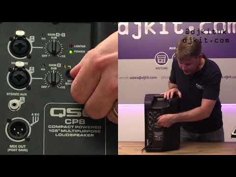 Brand New QSC CP8 & CP12 Speakers! Exclusive First Look w/ Mark Bailey