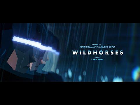 WILD HORSES - Animated Short Film (Soundtrack by Canblaster)