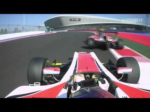 Fantastic Last Lap @ 2014 GP3 Sochi Race 2
