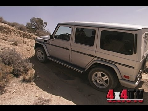 2002 Mercedes Benz G500 Test - 4x4TV Test