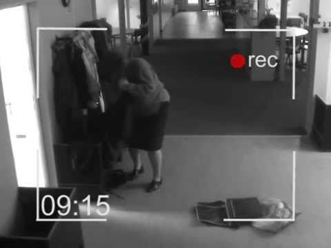 Schoolteachers Caught By Security Camera video