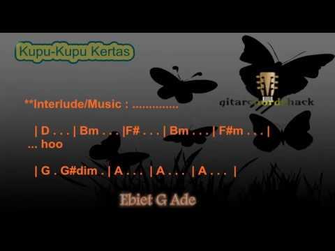 Chord Ebiet G Ade Kupu Kupu Kertas Kord Gitar Ebiet  Lagu dan Lirik