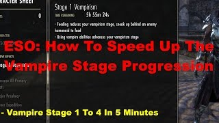 download lagu Eso: How To Advance Vampire Stages 1 To 4 gratis