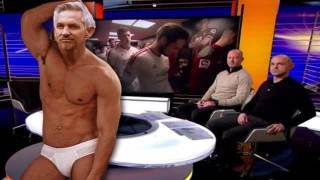 Gary Lineker naked after match chelsea tottenham Leicester City champions!