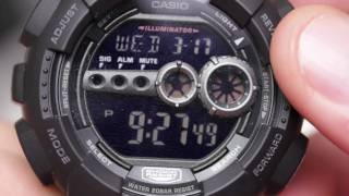 Casio G-Shock GD-100-1BDR Unboxing & Overview + Close Ups!