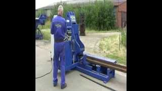 Breaker bars - machine for scrap - cutting rails