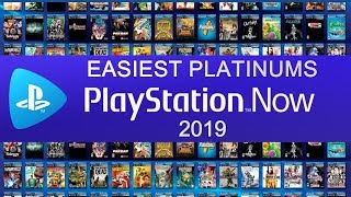 Easiest Platinums On PS Now 2019 | 7 Day Free Trial - Free Platinum Games