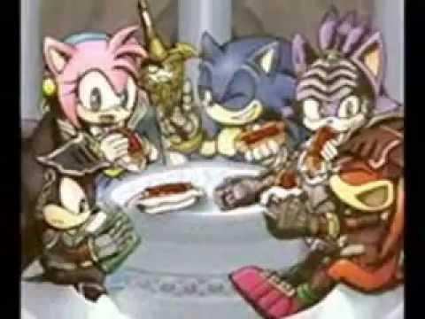 Imagenes Graciosas de Sonic y sus amigos.