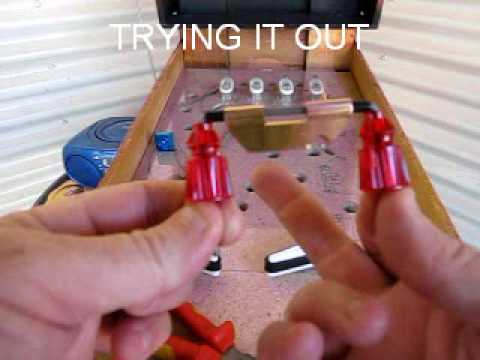 Homemade Pinball Machine - Building The Spinner
