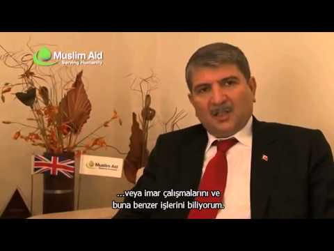 MUSLIM AID TURKEYS AMBASSADOR TO SOMALIA VISITS MUSLIM AID OFFICES 24 FEB 2012