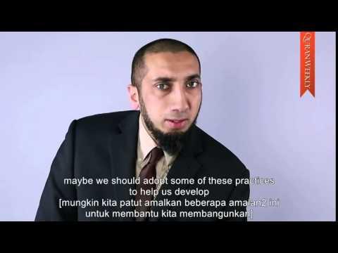 Timeless Perfection Of Islam ~ Nouman Ali Khan (malay Subtitles) video