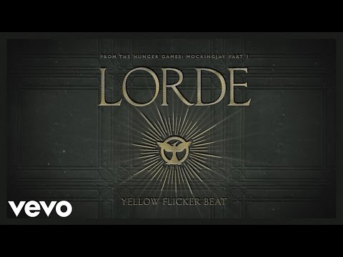 Lorde - Yellow Flicker Beat (from The Hunger Games: Mockingjay Part 1) (audio) video