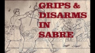 Military Sabre Fencing - Grips and Disarms