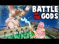 BATTLE of the GODS! The END BOSS (Rock of Ages 2 Gameplay Ending & Boss Fight)
