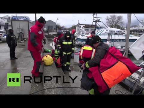 Italy: Turkish ship sinks after collision in Adriatic Sea