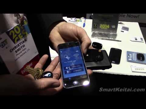Phone Halos TrackR Helps Find Keys Wallet and Other Lost Items Using a Smartphone