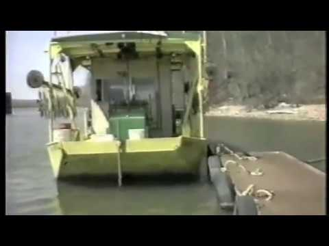 Paddle Boat Made From Deere Swather