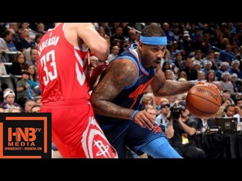 Oklahoma City Thunder vs Houston Rockets Full Game Highlights / Week 11 / Dec 25