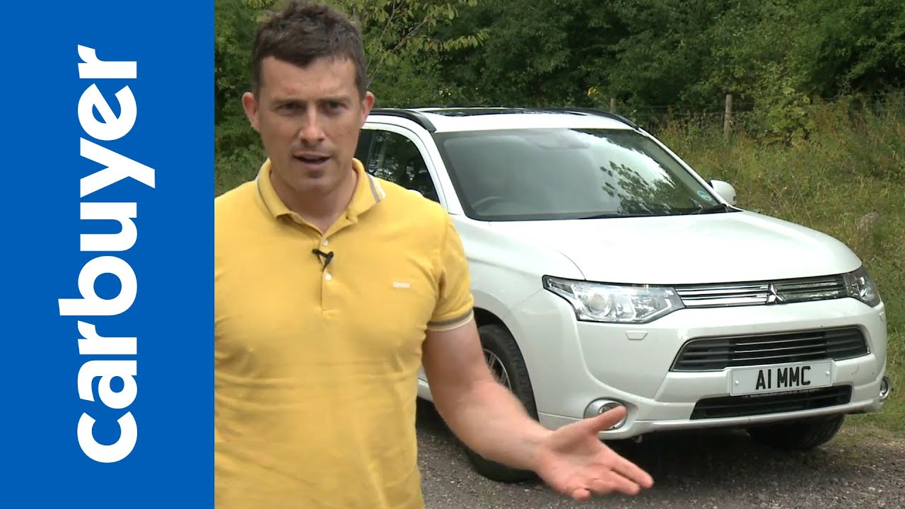 Mitsubishi Outlander PHEV 2014 review - Carbuyer - YouTube