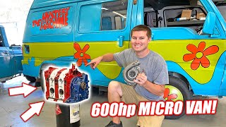 ROTARY Swapped Mystery Machine EP.1 - Introducing Cooper's New TURBO ROTARY Engine!!!
