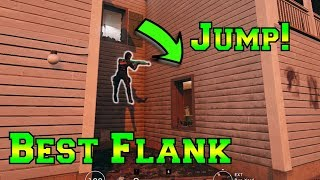 JUMP HERE for AMAZING FLANK - Rainbow Six Siege