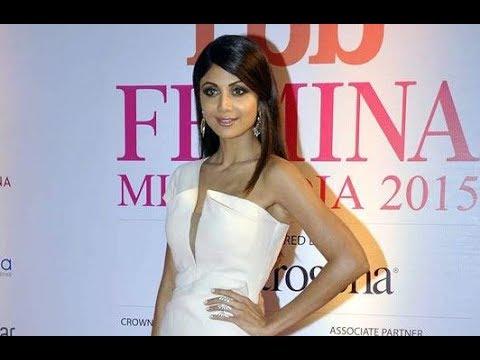 Shilpa Shetty, Chitrangada Singh, Anil Kapoor & Neha Dhupia at Femina Miss India 2015 Grand Finale