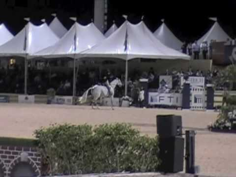 Louise Serio & Castle Rock - WEF Hunter Derby Winner