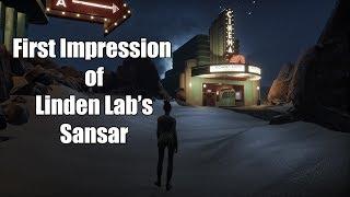 First Impression of Linden Lab's Sansar - April 2017