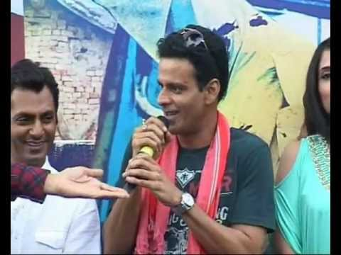 Manoj Bajpai Anurag Kashyap Richa Chadda Huma Qureshi at Gangs Of Wasseypur Music Launch Part 1