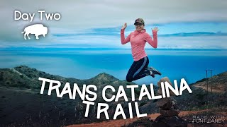 Trans Catalina Trail (Day Two)