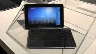 Dell XPS 10 Hybrid Windows 8 RT Tablet Hands On at IFA 2012