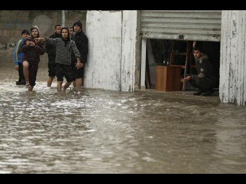 UN declares Gaza City emergency following heavy flooding video