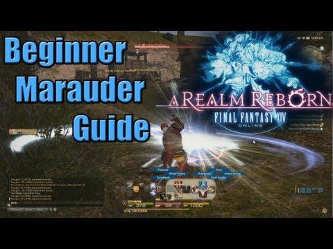 Final Fantasy XIV Beginner's Class Guide: Marauder Levels 1-15