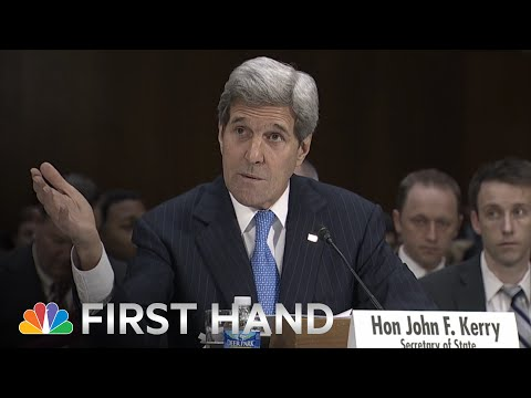 Raw: John Kerry Blasts Congress' Iran Letter | NBC News
