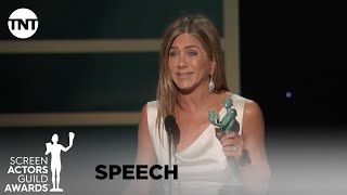 Jennifer Aniston: Award Acceptance Speech | 26th Annual SAG Awards | TNT