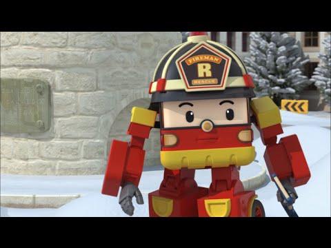Робокар Поли - Правила дорожного движения - Правила безопасности в снежный день (мультфильм 19)