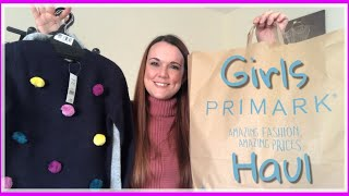 PRIMARK/ CLOTHING HAUL FOR A 6 YEAR OLD GIRL