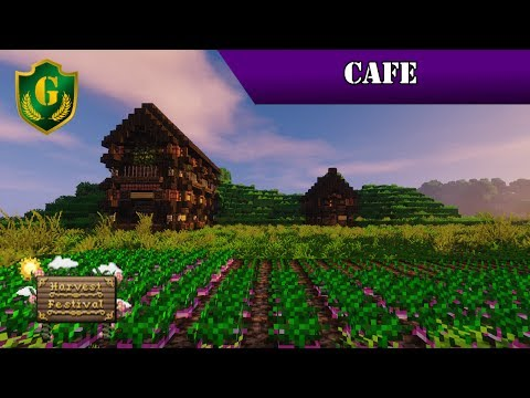 Harvest Festival Tutorial Series - Part 4 - Cafe