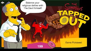 The Simpsons: Tapped Out [382] Halloween Treehouse of Horror Update (2018) Pt 8 {Gil Deal Hellscape}