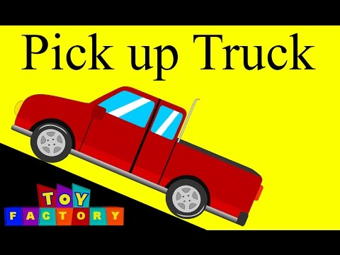 Pick up trucks | Trucks for kids | Monster Trucks for children
