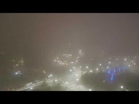 Boston in Heavy Fog