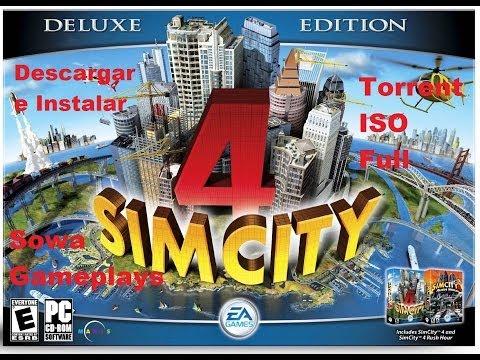 Descargar E Instalar SimCity 4 Deluxe Edition por TORRENT Full ISO